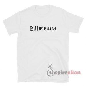Billie Eilish logo T-Shirt For Unisex
