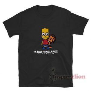 Bape Baby Milo Behind Bart T-Shirt Cheap Custom