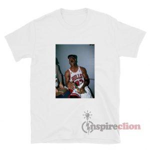 Michael Jordan Smoking Cigar Champions T-Shirt