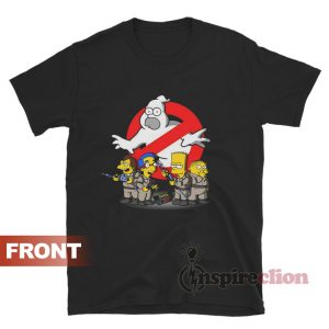 Get It Now The Simpson's Homer Busters T-Shirt