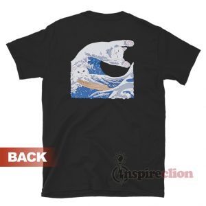 RIPNDIP Great Wave Of Nerm Black T-Shirt For Unisex