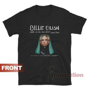 Billie Eilish When We All Fall Asleep World Tour T-Shirt