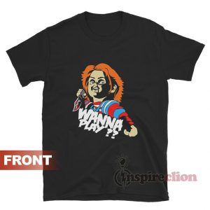 Get It Now Child's Play Chucky Wanna Play T-Shirt
