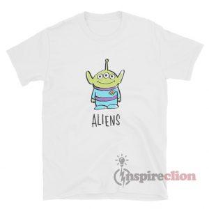 Get It Now Disney Pixar Toy Story Alien T-Shirt For Unisex