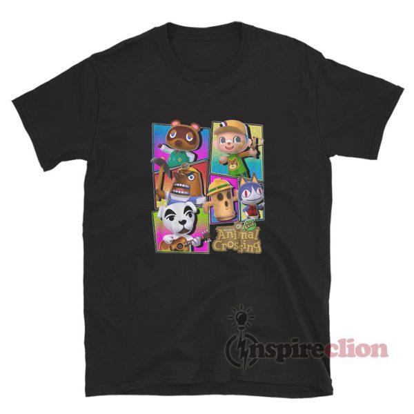 Nintendo Animal Crossing Characters Youth T-Shirt