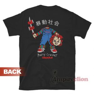 Child's Play Chucky Party Crasher T-Shirt
