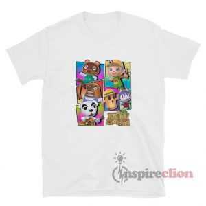 Nintendo Animal Crossing Characters Youth T-Shirt