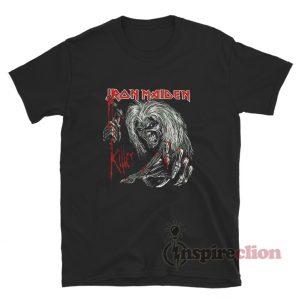 Iron Maiden Killers Black T-Shirt For Unisex