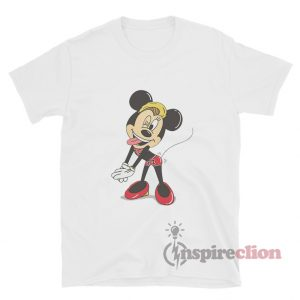 Minnie Mouse Miley Cyrus Twerk It Unisex Funny T-Shirt