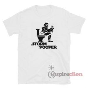 Star Wars Storm Pooper Funny T-Shirt