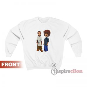 The Boondocks Riley And Huey Sweatshirt