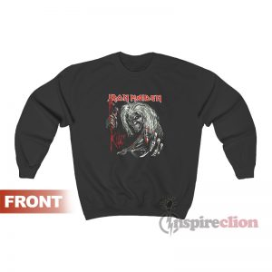 Iron Maiden Killers Black Sweatshirt