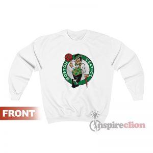 Get Now Boston Celtics Logo Mascot Sweatshirt