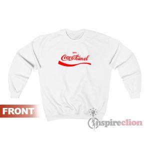 Coca Cola Coco Chanel Parody Sweatshirt