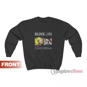 Get It Now Blink 182 California Sweatshirt