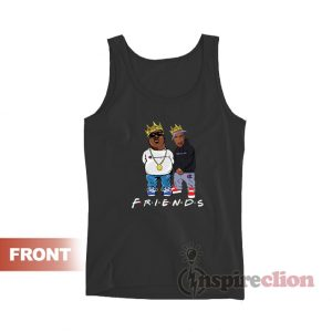 Biggie and Tupac Champion Friends Tank Top