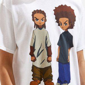 The Boondocks Riley And Huey T-Shirt