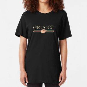 Grucci Despicable Me Gru Parody Gucci T-Shirt