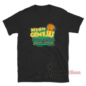 Neon Genesis Evangelion Garfield T-Shirt