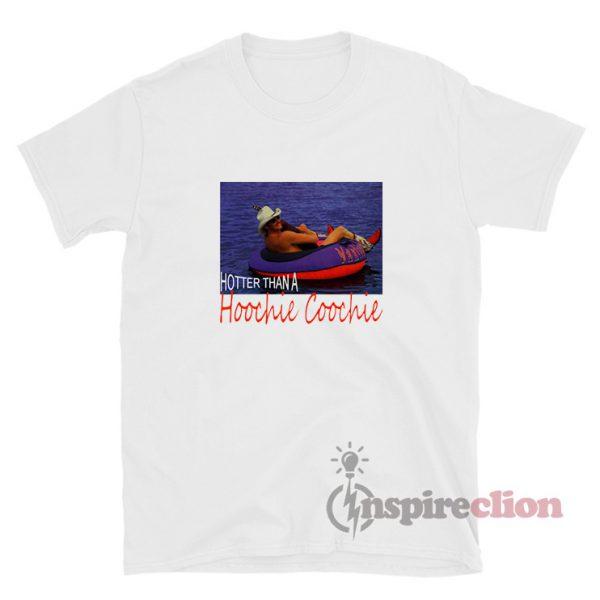 Alan Jackson Hotter Than A Hoochie Coochie Vintage T-Shirt