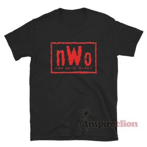 NWO New World Order Logo T-Shirt