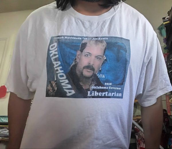 Joe Exotic Campaign For Governor T-Shirt