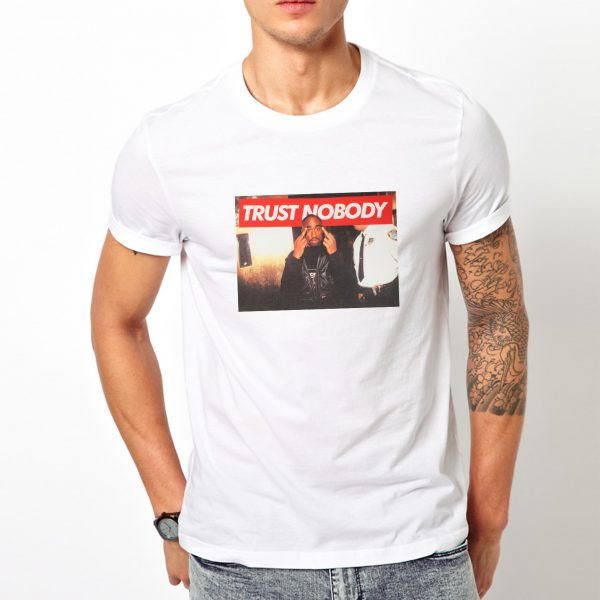 Get It Now Tupac Trust Nobody Vintage T-Shirt