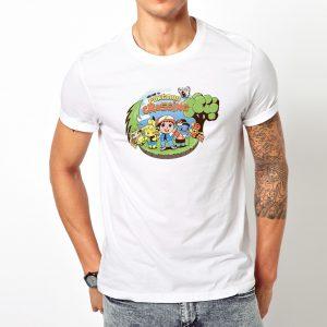 Pokemon and Animal Crossing Mashup T-Shirt