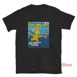 Rolling Stone The Simpsons Make Rock History T-Shirt