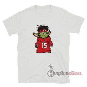 Baby Yoda Patrick Mahomes Super Bowl Kansas City Shirt