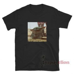 Star Wars The Mandalorian The Child Cute Scene T-Shirt