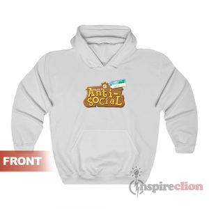 Animal Crossing Anti Social Unisex Hoodie