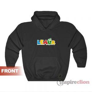 Leaux Logo Multicolor Hoodie For Unisex