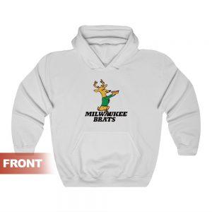 Milwaukee Brats Funny Hoodie