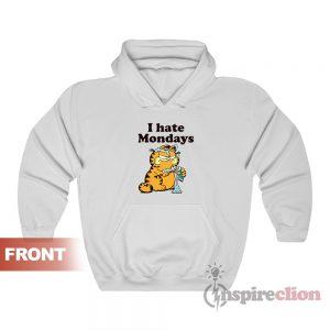 Garfield I Hate Mondays Hoodie