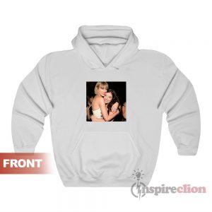 Taylor Swift Hugging Lorde Hoodie