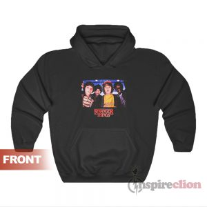 Netflix Stranger Things Character Photo Hoodie