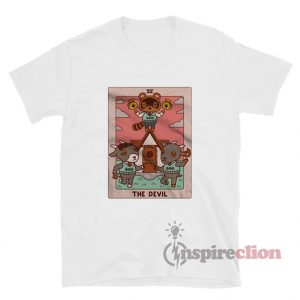 Animal Crossing The Devil Tarot Funny T-Shirt