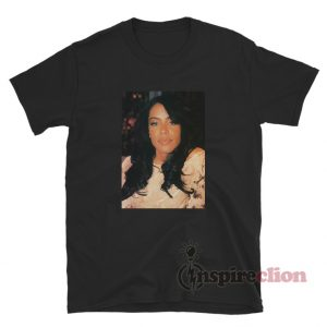 Aaliyah 106 And Park 2001 Photo T-Shirt