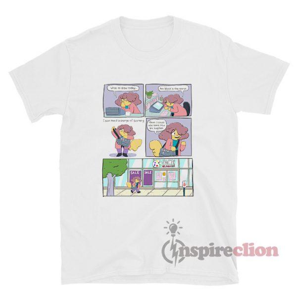 Comic Cartoon Network T-Shirt