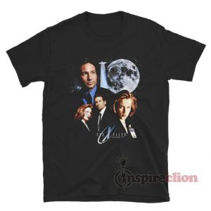 The X Files Mulder Scully Moon T-Shirt