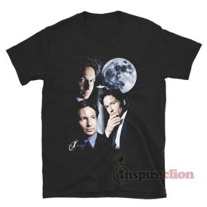 The X Files Many Moods Of Fox Mulder T-Shirt