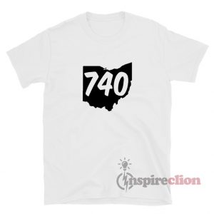 740 Area Code Ohio T-Shirt For Unisex