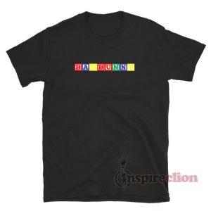 Bad Bunny Blocks T-Shirt