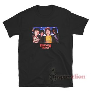 Netflix Stranger Things Character Photo T-Shirt
