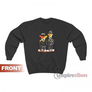 Ernie Bert Blues Brothers Sesame Street Sweatshirt