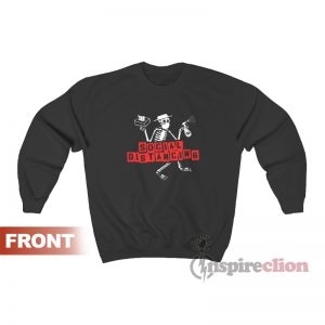 Social Distancing Distortion Sweatshirt