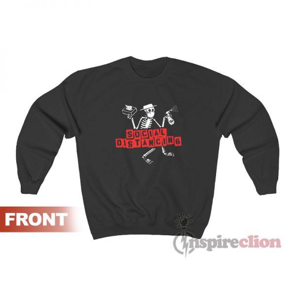 Social Distancing Distortion Sweatshirt