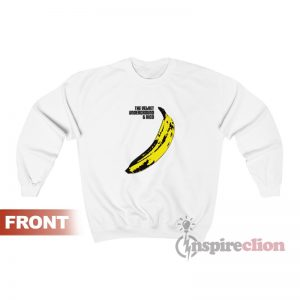The Velvet Underground And Nico Banana Sweatshirt