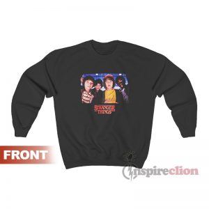 Netflix Stranger Things Character Photo Sweatshirt